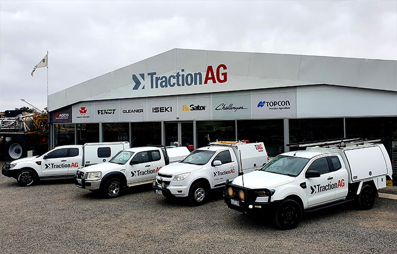 A Traction Ag technician
